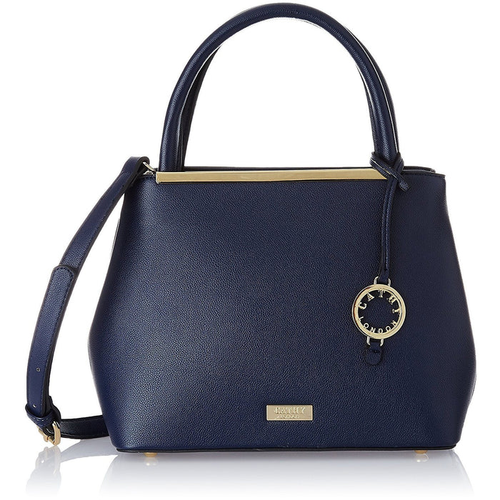 cathy london blue handbag