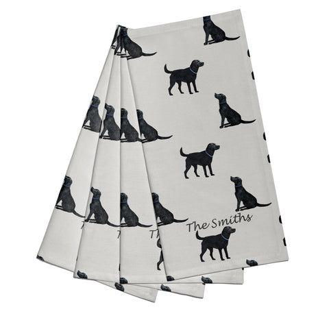 Labrador Napkins - Set of 4