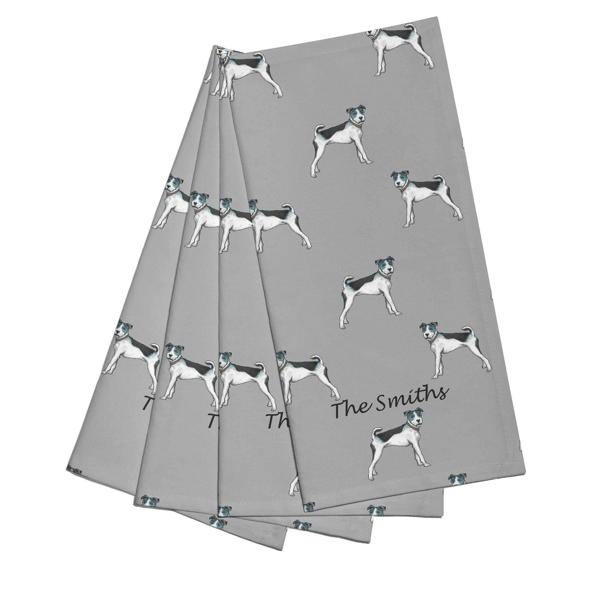 Personalised Terrier Napkins