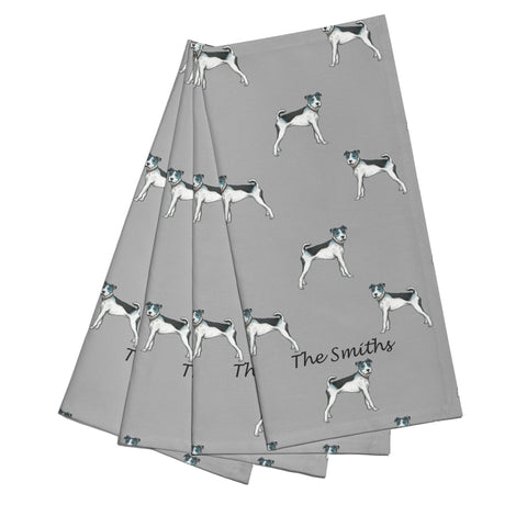 Terrier Napkins - Set of 4