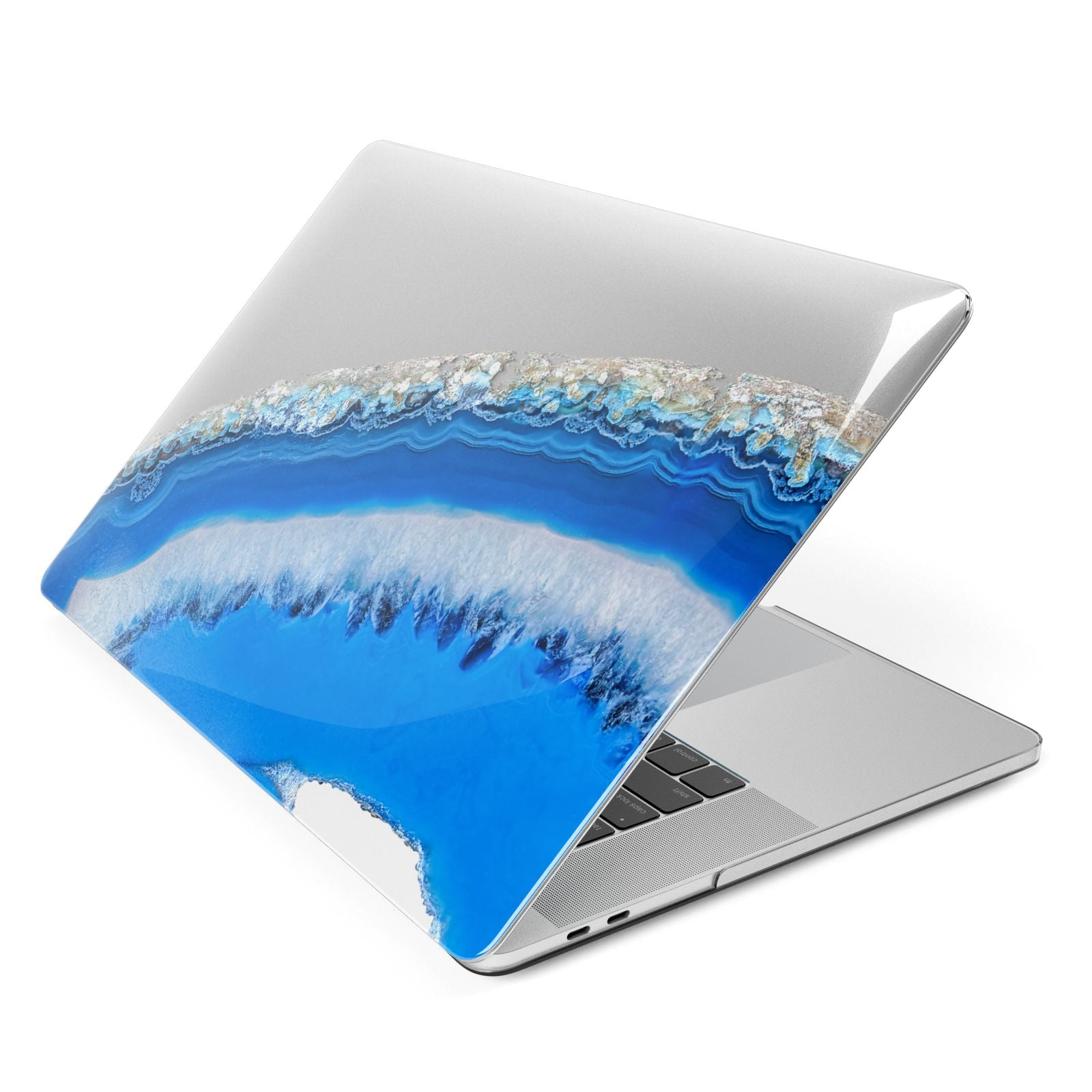Agate Blue Apple MacBook Case Side View