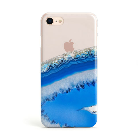 Agate Blue Apple iPhone Case