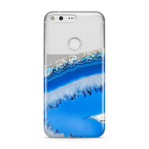 Agate Blue Google Case