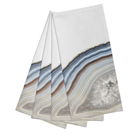 Agate Blue & Grey Napkins