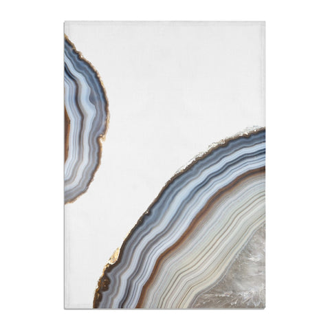 Agate Blue & Grey Tea Towel