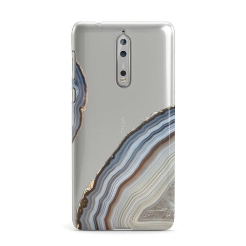 Agate Blue & Grey Nokia Case