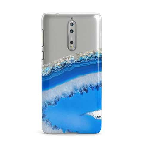 Agate Blue Nokia Case