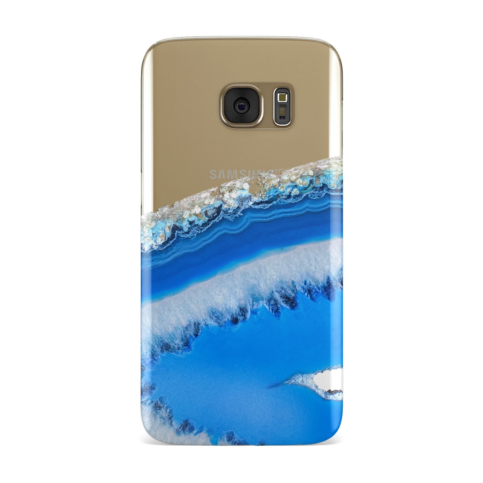 Agate Blue Samsung Galaxy Case