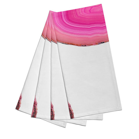 Agate Bright Pink Napkins