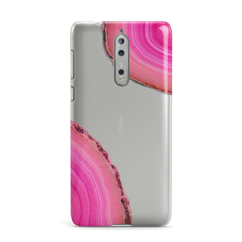 Agate Bright Pink Nokia Case