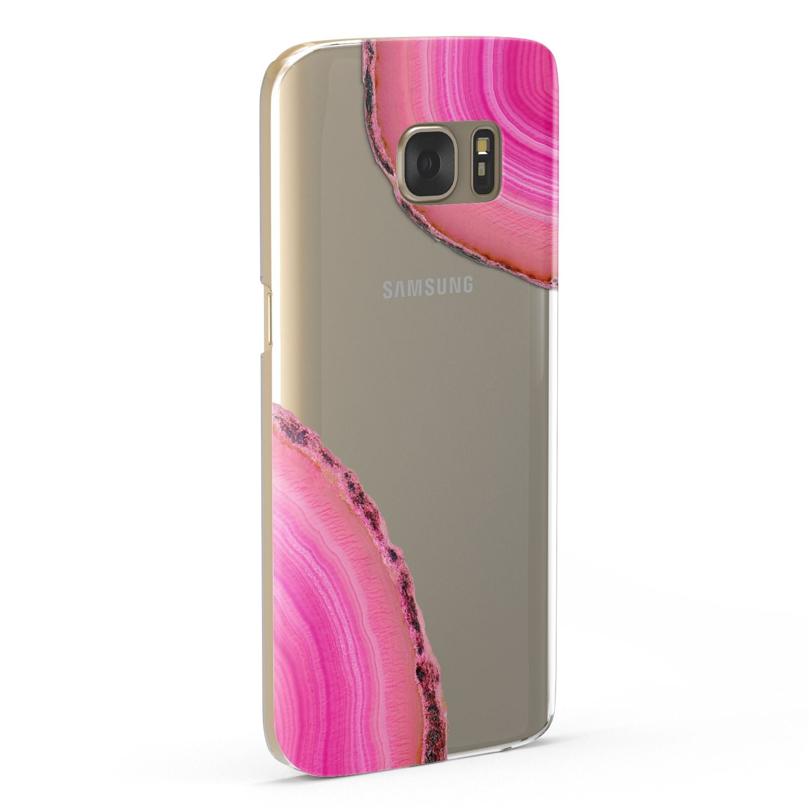 Agate Bright Pink Samsung Galaxy Case Fourty Five Degrees