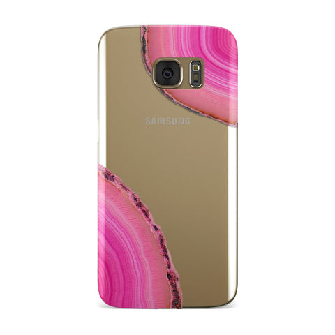 Agate Bright Pink Samsung Galaxy Case