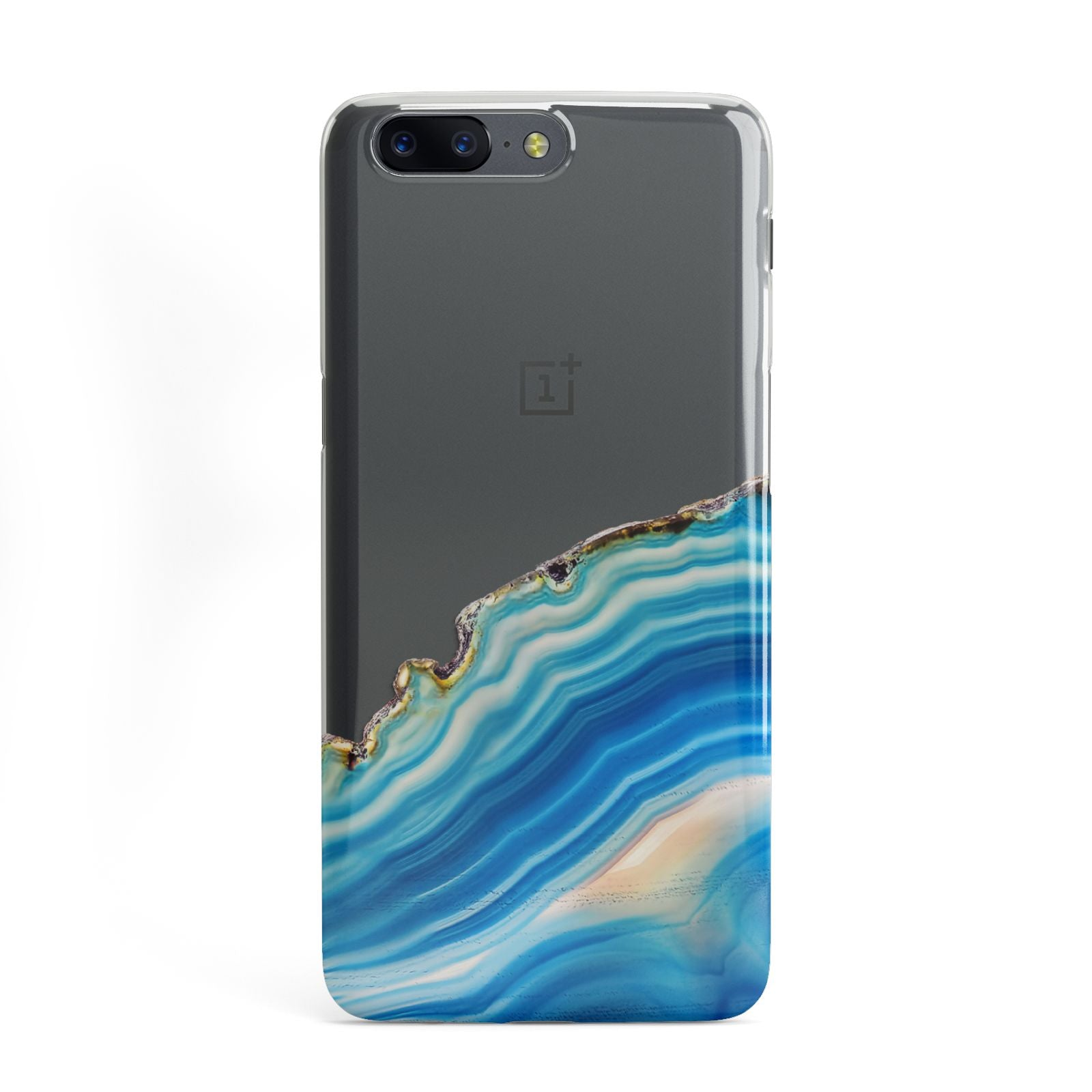 Agate Pale Blue and Bright Blue OnePlus Case