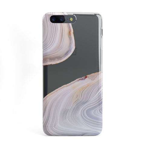 Agate Pale Pink and Blue OnePlus Case