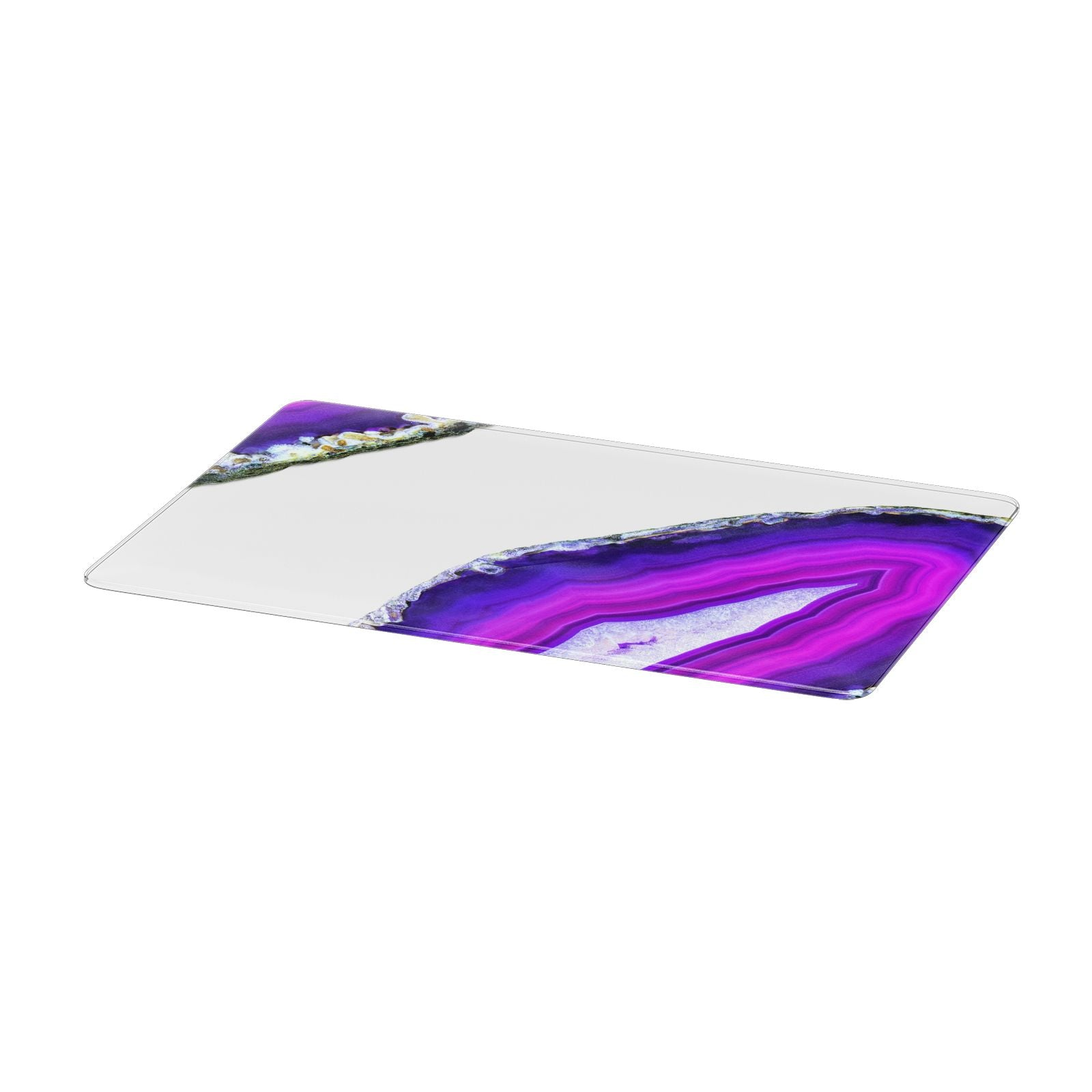 Agate Purple and Pink Apple MacBook Case Only