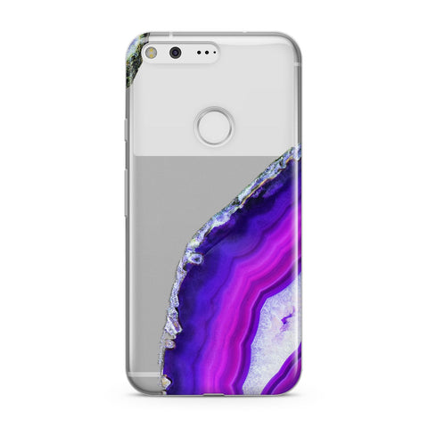 Agate Purple and Pink Google Case