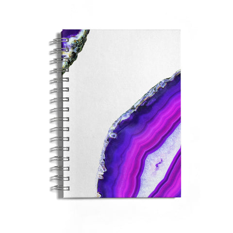 Agate Purple and Pink Notebook