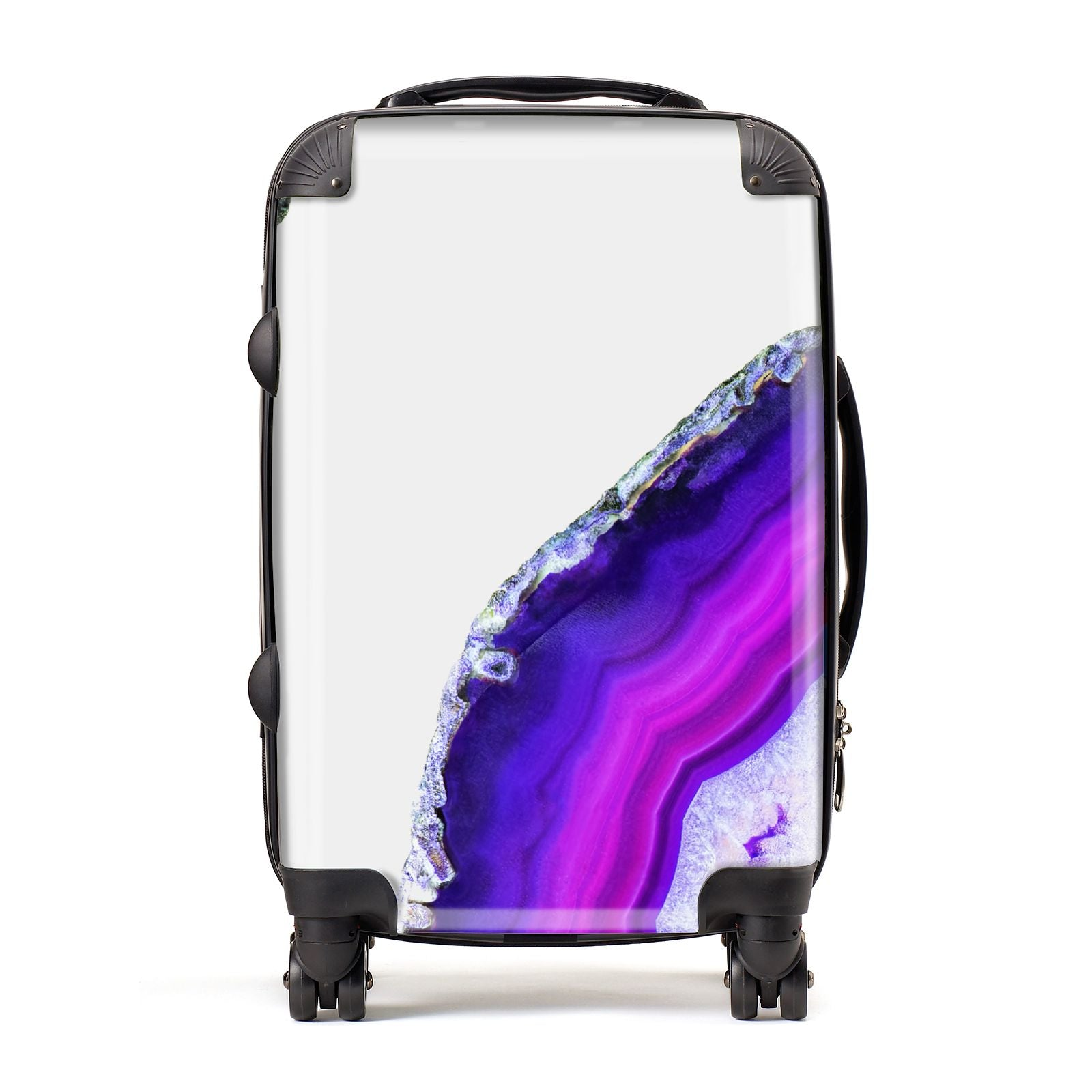Agate Purple and Pink Suitcase
