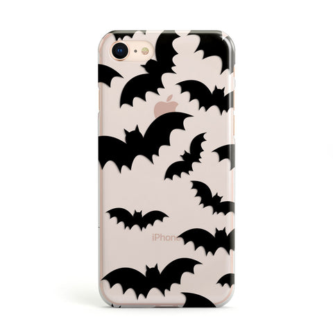 Bat Halloween Print Apple iPhone Case