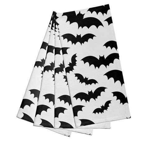 Bat Halloween Print Napkins