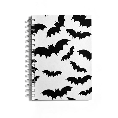 Bat Halloween Print Notebook