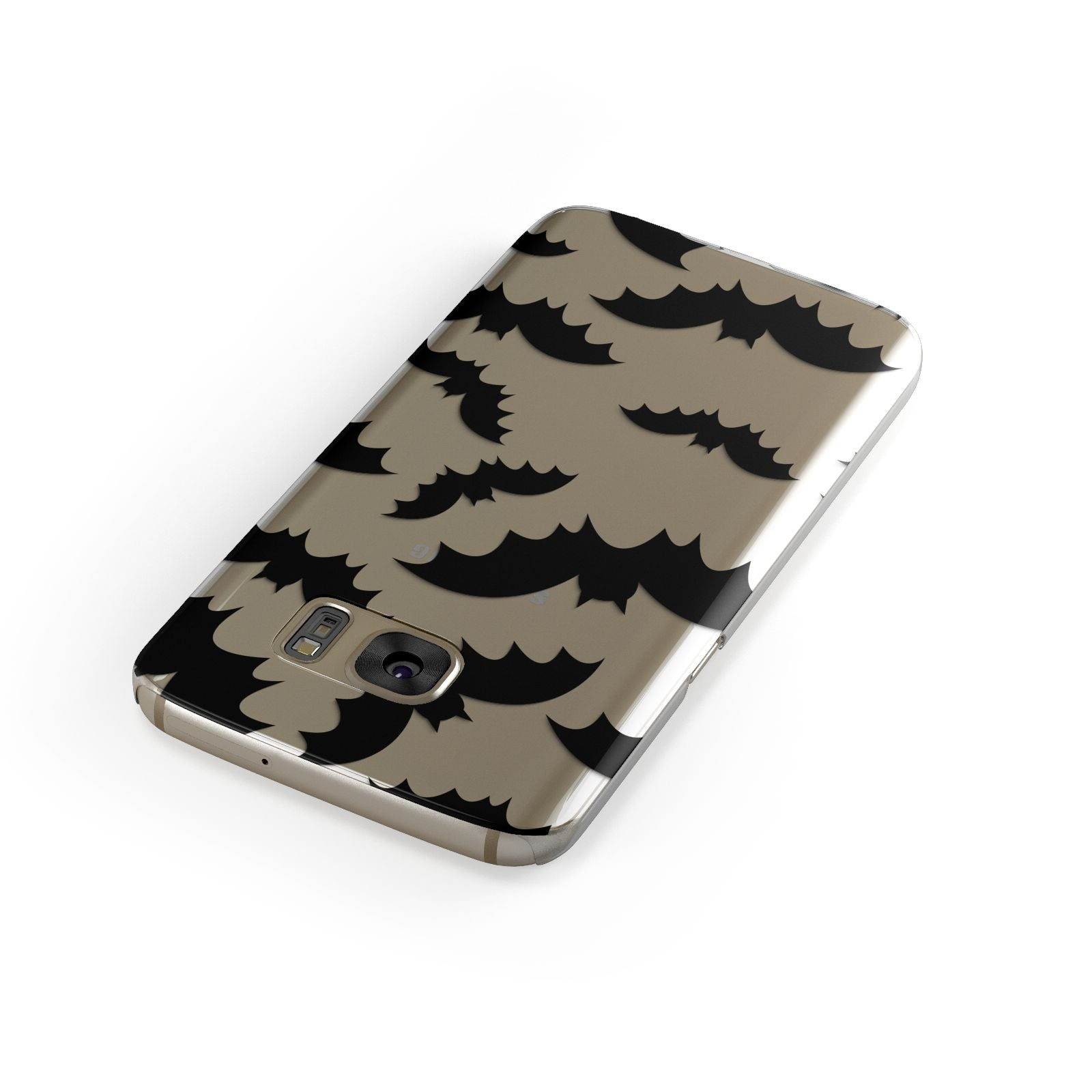 Bat Halloween Print Samsung Galaxy Case Front Close Up