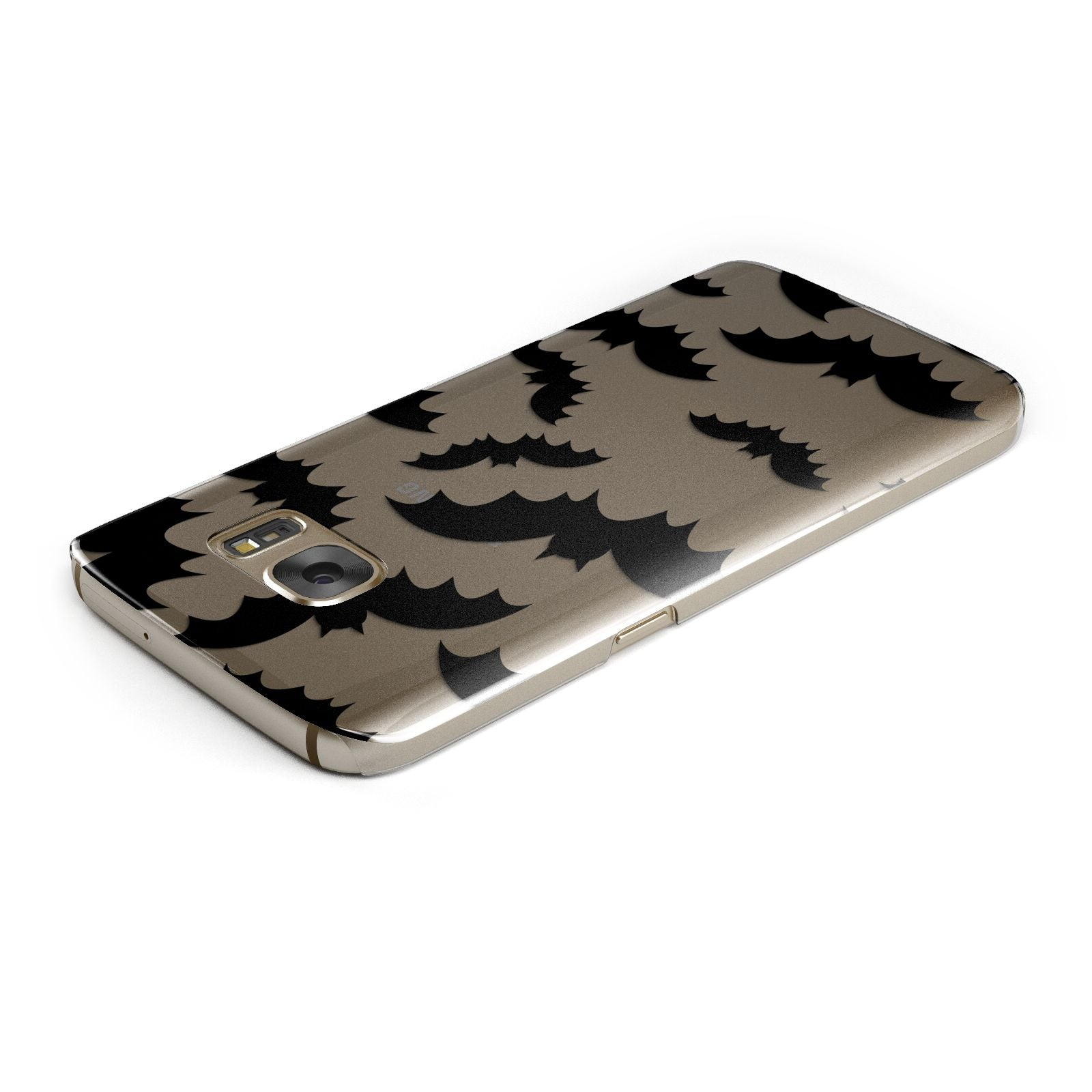 Bat Halloween Print Samsung Galaxy Case Top Cutout