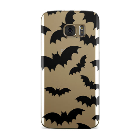Bat Halloween Print Samsung Galaxy Case