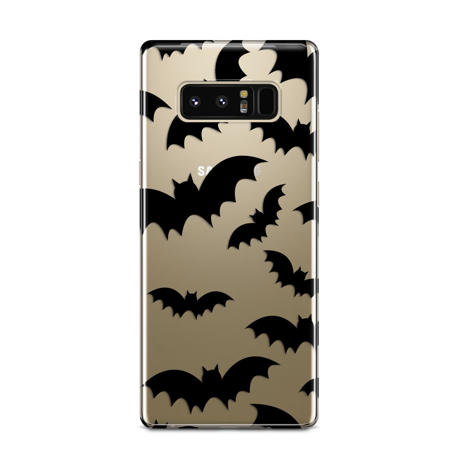 Bat Halloween Print Samsung Galaxy Note 8 Case