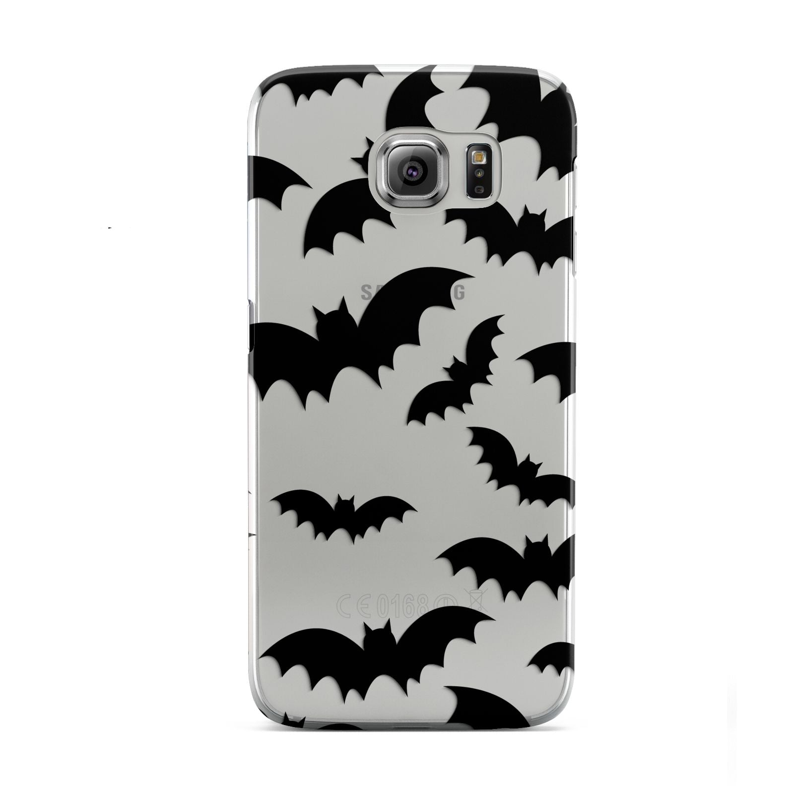 Bat Halloween Print Samsung Galaxy S6 Case