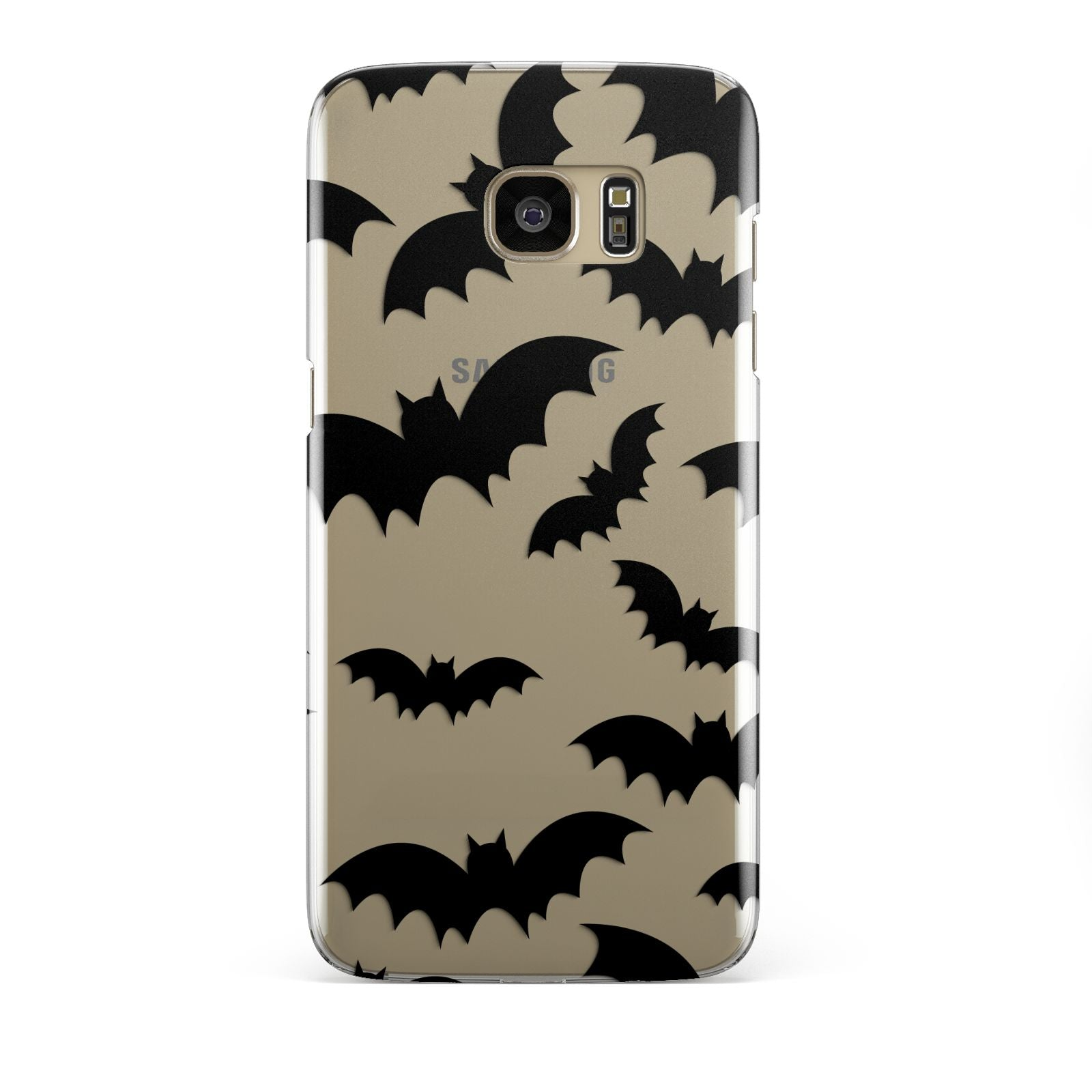 Bat Halloween Print Samsung Galaxy S7 Edge Case