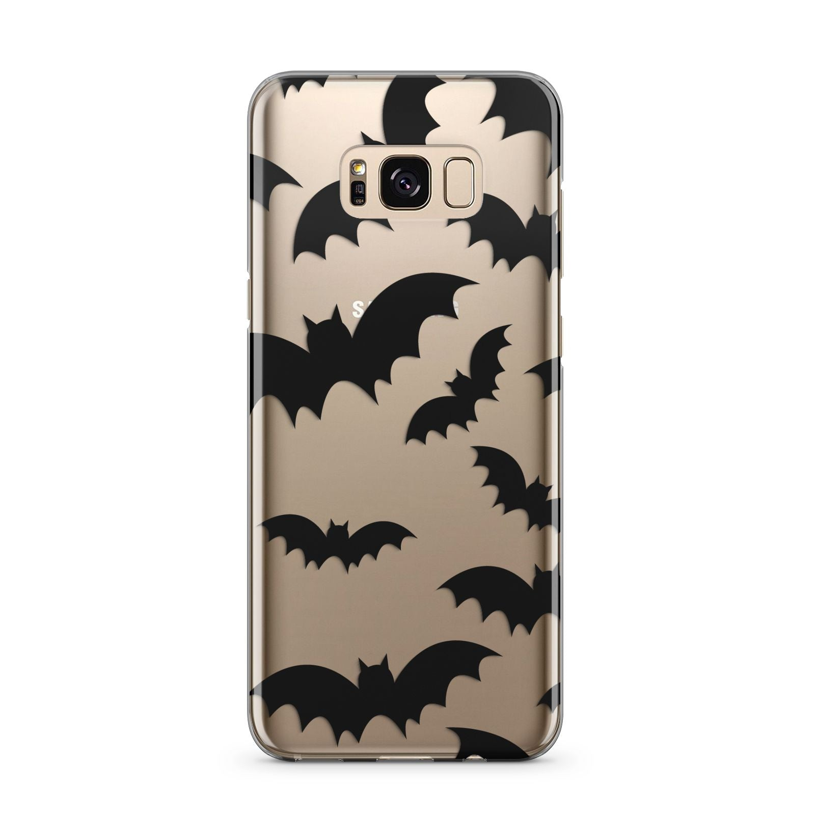 Bat Halloween Print Samsung Galaxy S8 Plus Case