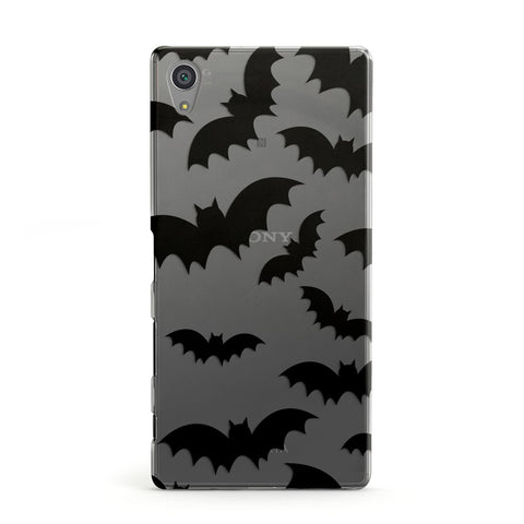 Bat Halloween Print Sony Case