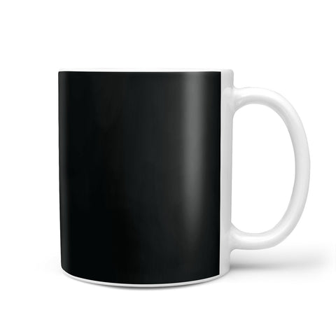 Black Personalised Initials Mug