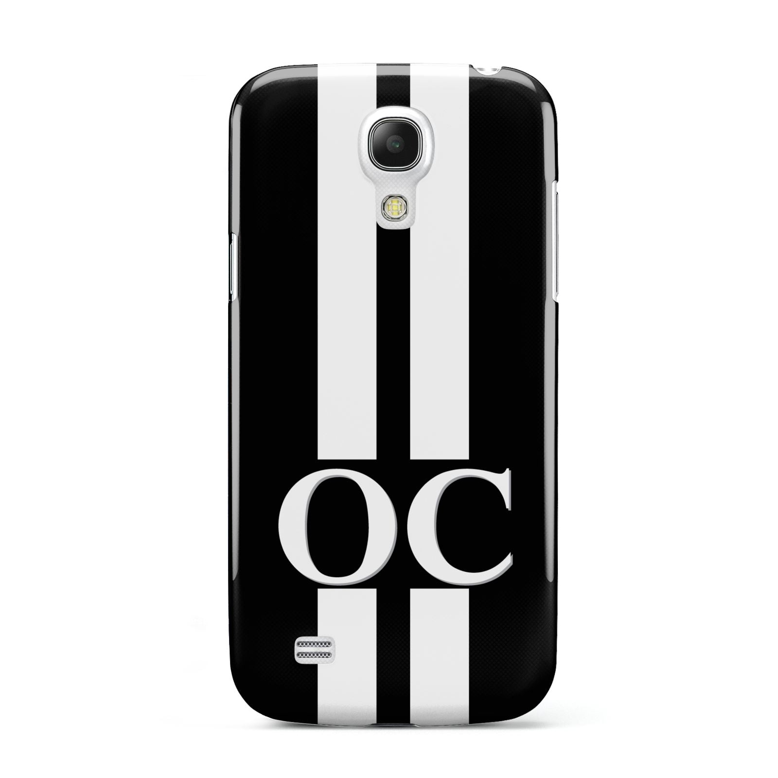 Black Personalised Initials Samsung Galaxy S4 Mini Case