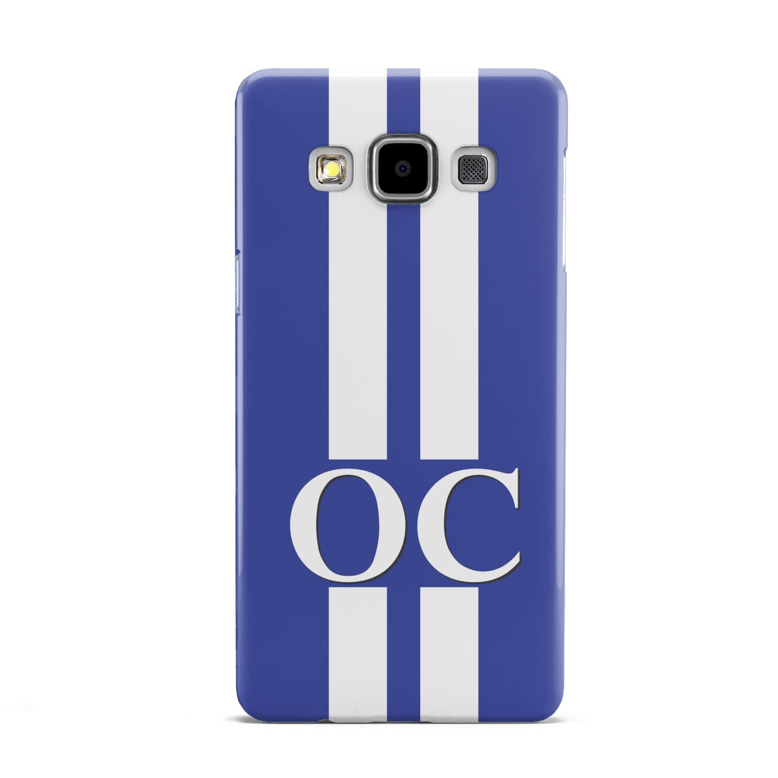 Blue Personalised Initials Samsung Galaxy A5 Case