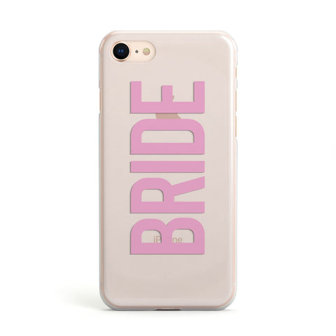 Bride Pink iPhone Case
