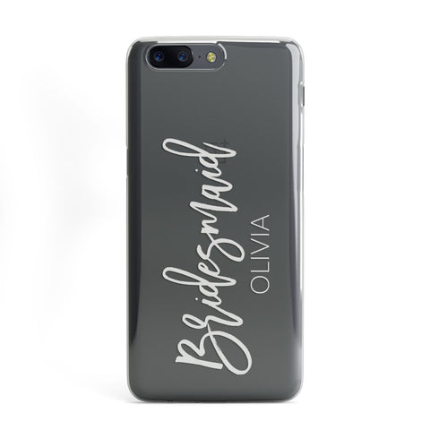 Bridesmaid Personalised OnePlus Case