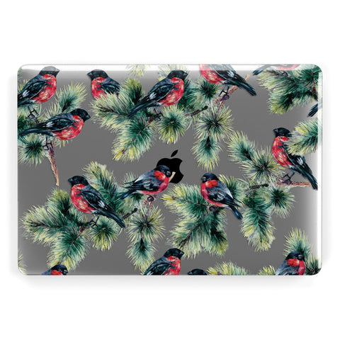 Bullfinch & Pine Tree Macbook Case