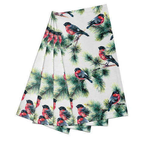 Bullfinch & Pine Tree Napkins