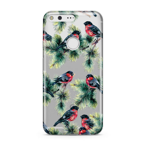 Bullfinch & Pine Tree Google Case