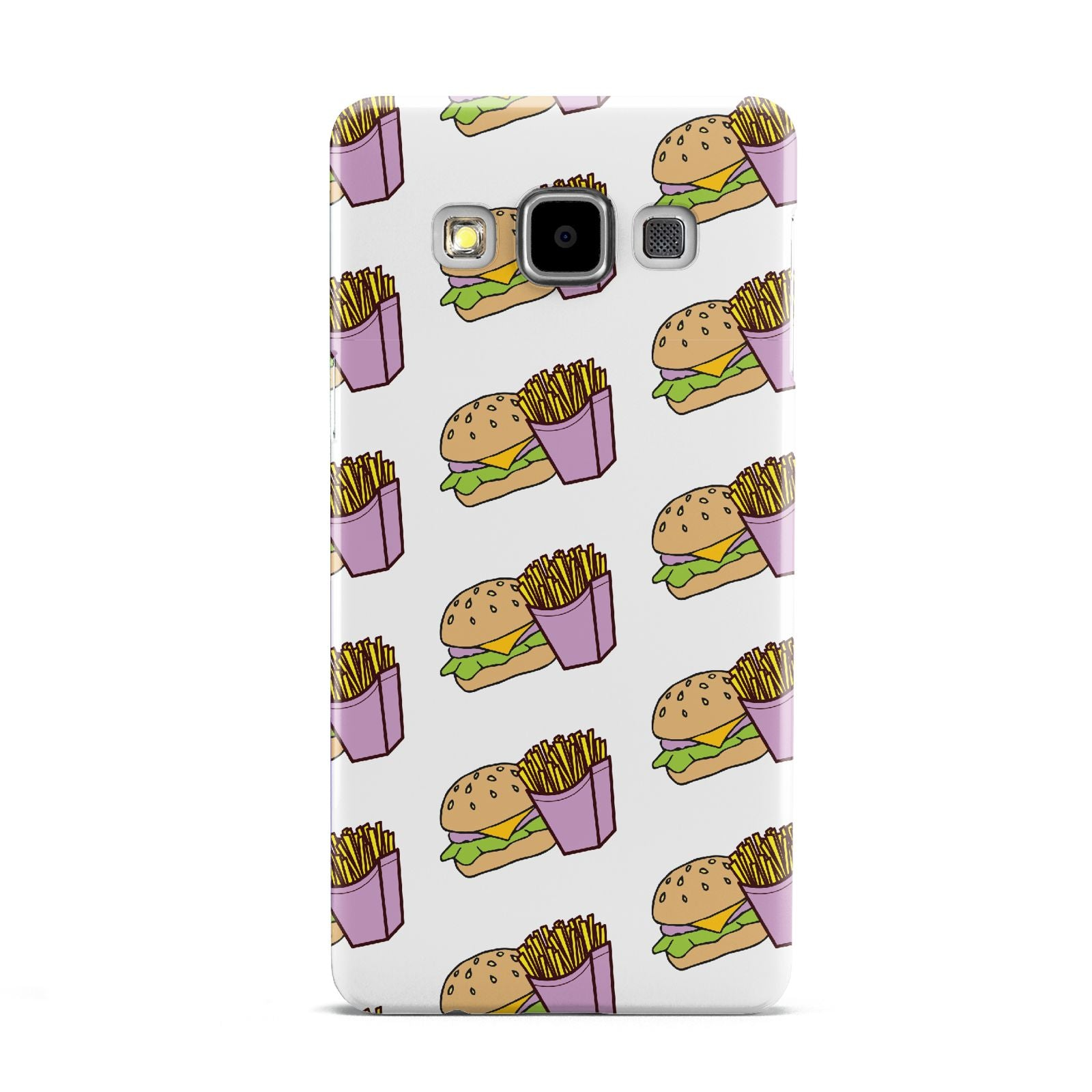 Burger Fries Fast Food Samsung Galaxy A5 Case