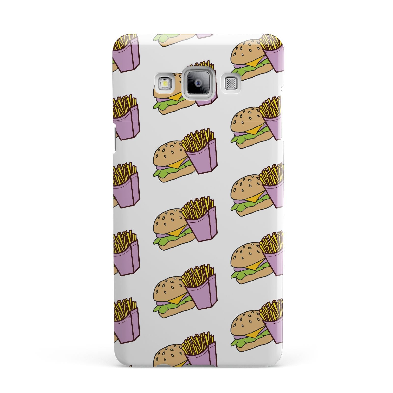 Burger Fries Fast Food Samsung Galaxy A7 2015 Case