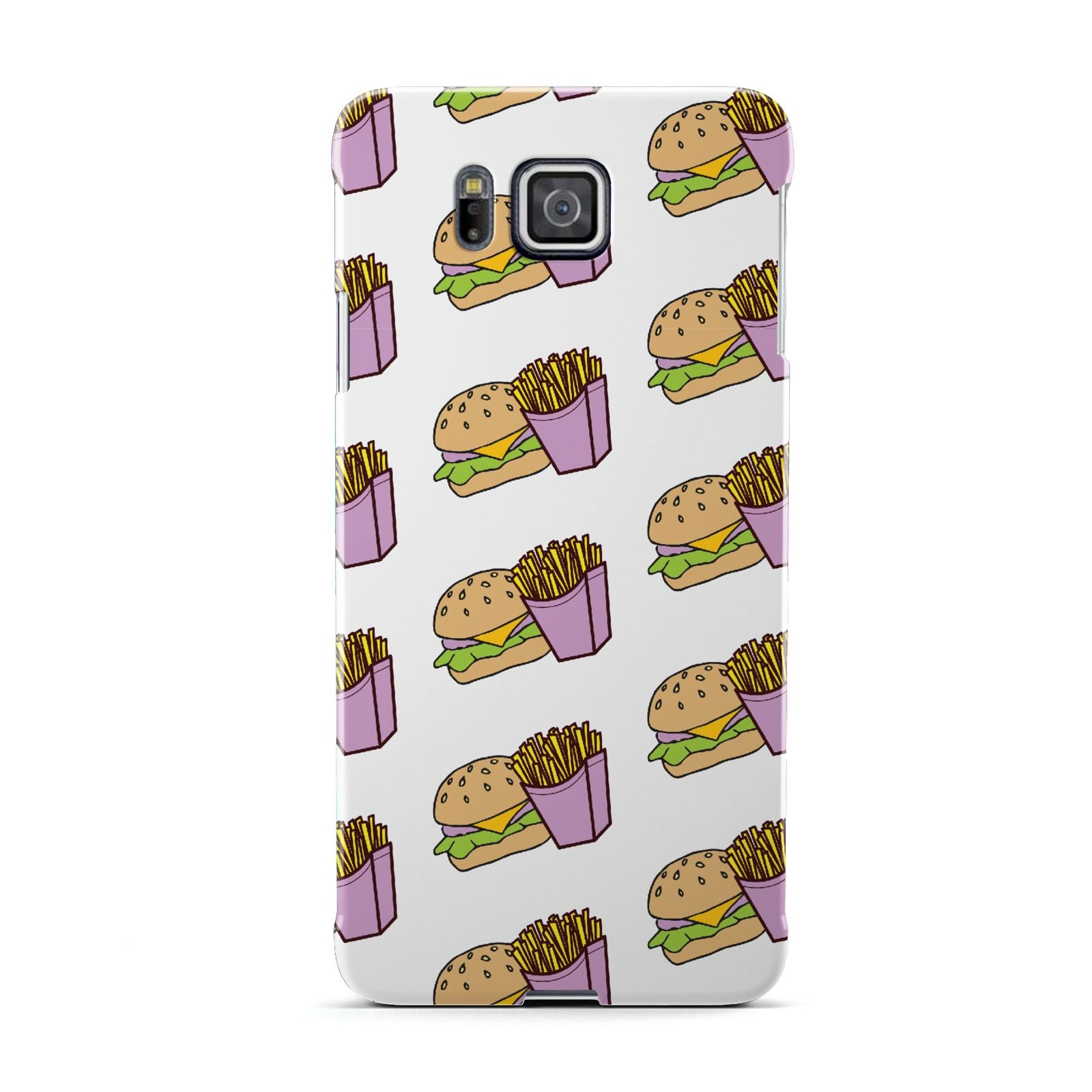 Burger Fries Fast Food Samsung Galaxy Alpha Case