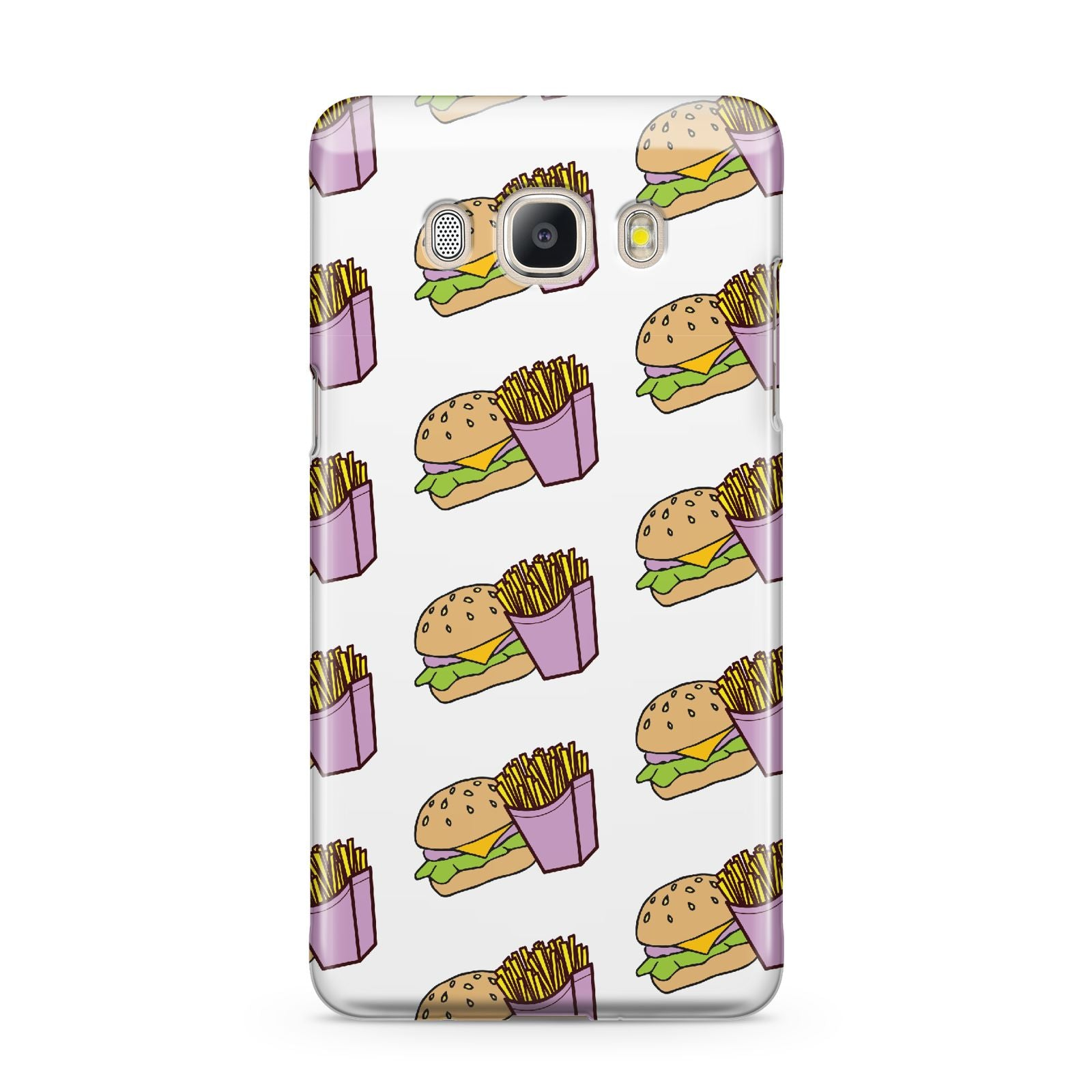 Burger Fries Fast Food Samsung Galaxy J5 2016 Case