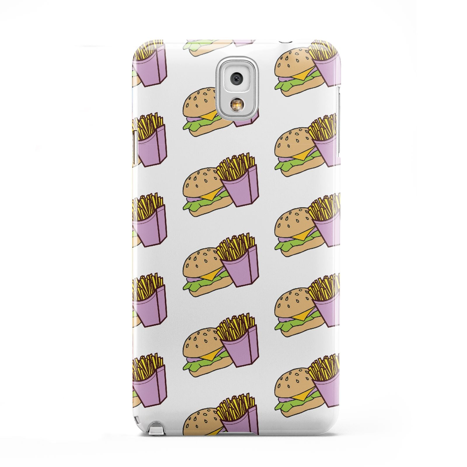 Burger Fries Fast Food Samsung Galaxy Note 3 Case