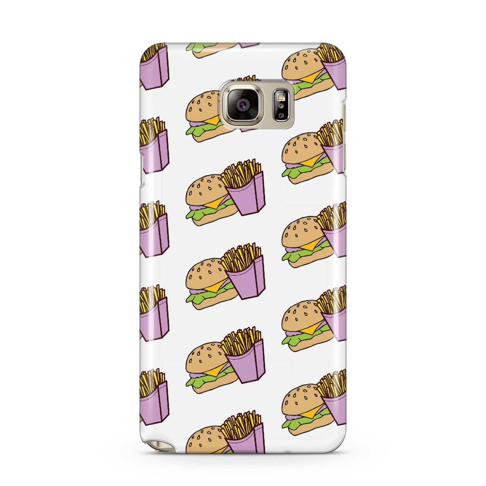 Burger Fries Fast Food Samsung Galaxy Note 5 Case