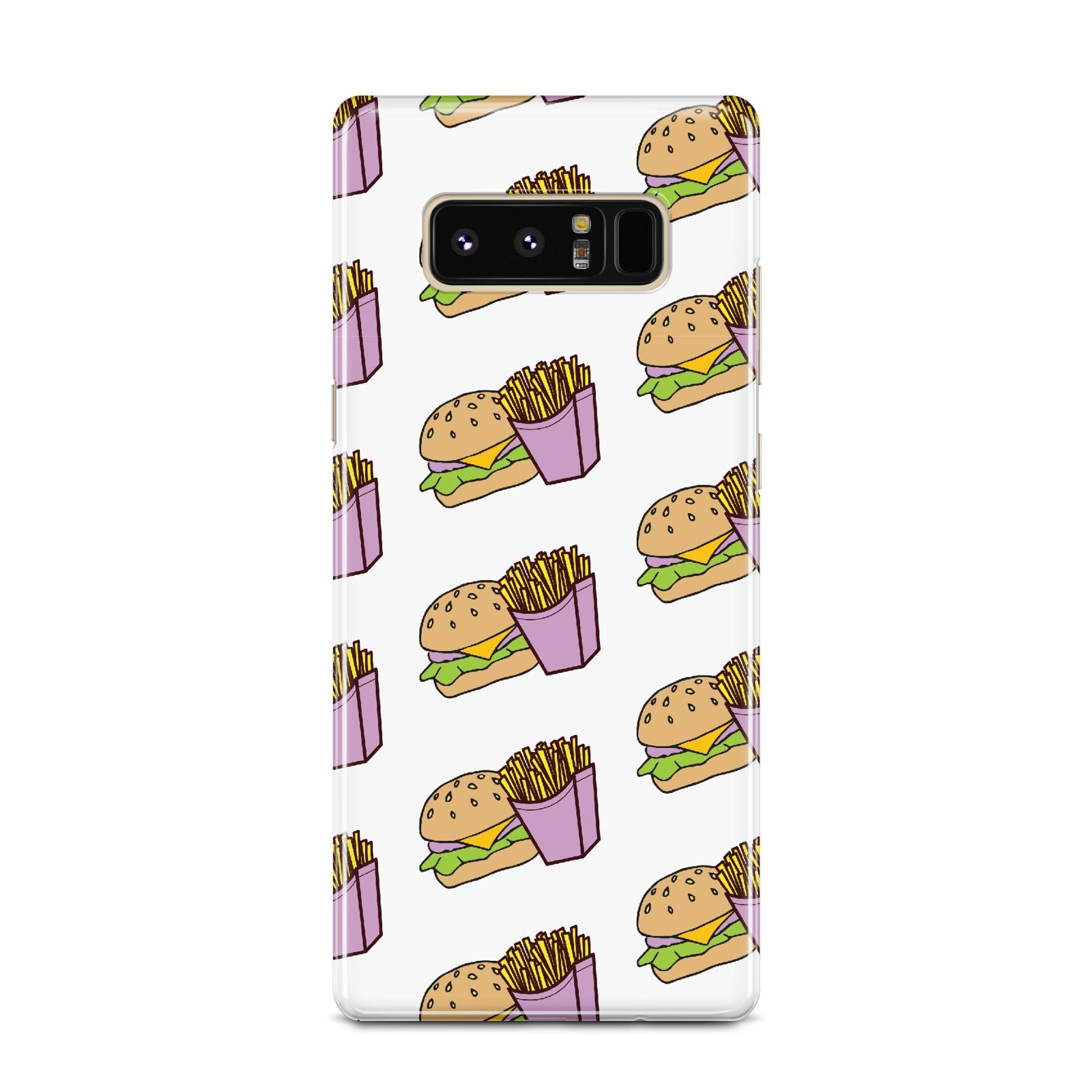 Burger Fries Fast Food Samsung Galaxy Note 8 Case