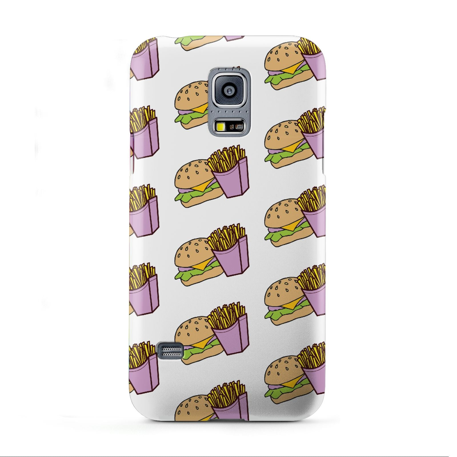 Burger Fries Fast Food Samsung Galaxy S5 Mini Case
