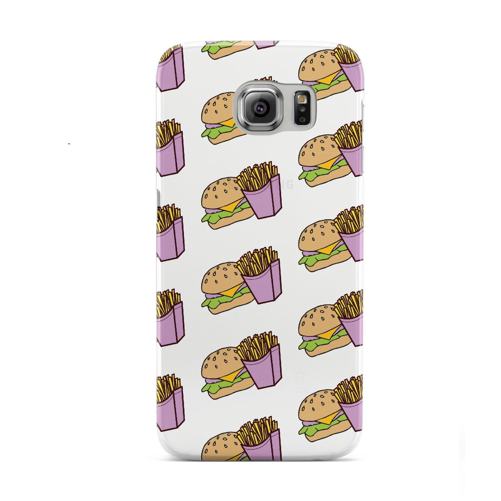 Burger Fries Fast Food Samsung Galaxy S6 Case